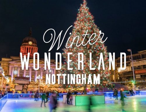 Nottingham Winter Wonderland by coach