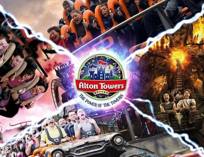 Alton Towers by Coach from Teesside