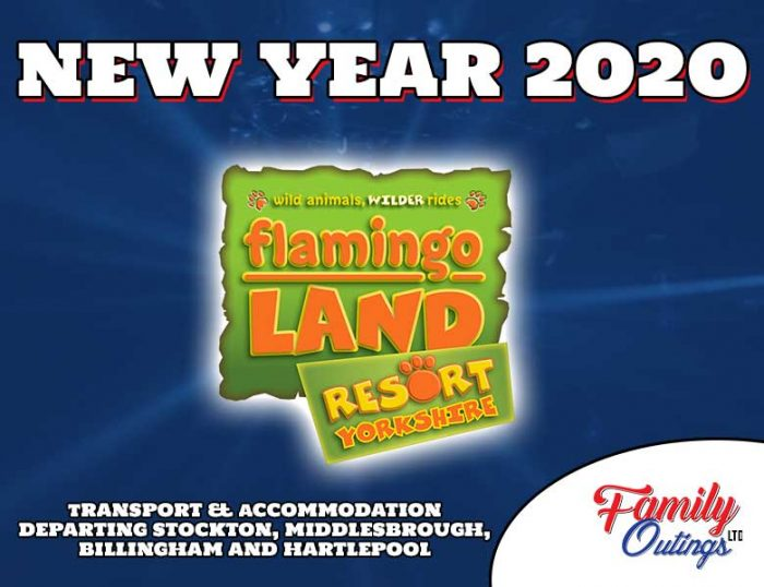 Flamingo Land New Year 2020