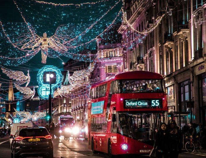 London Short Break at Christmas