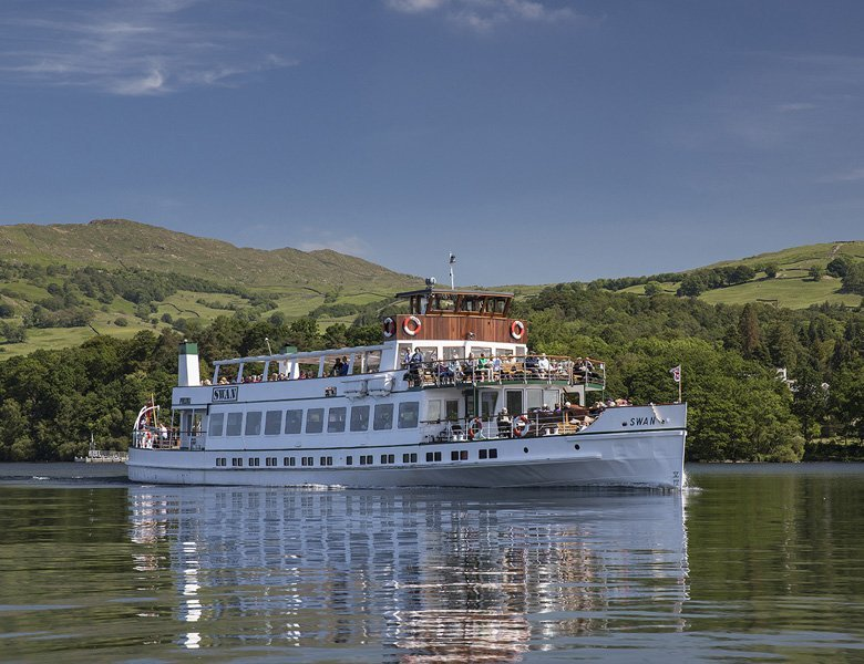 Windermere by coach, Lake District