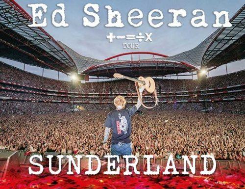 Ed Sheeran Sunderland Concert