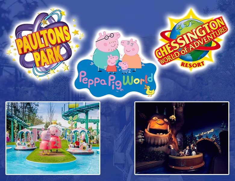 Paultons Park & Chessington World of Adventure