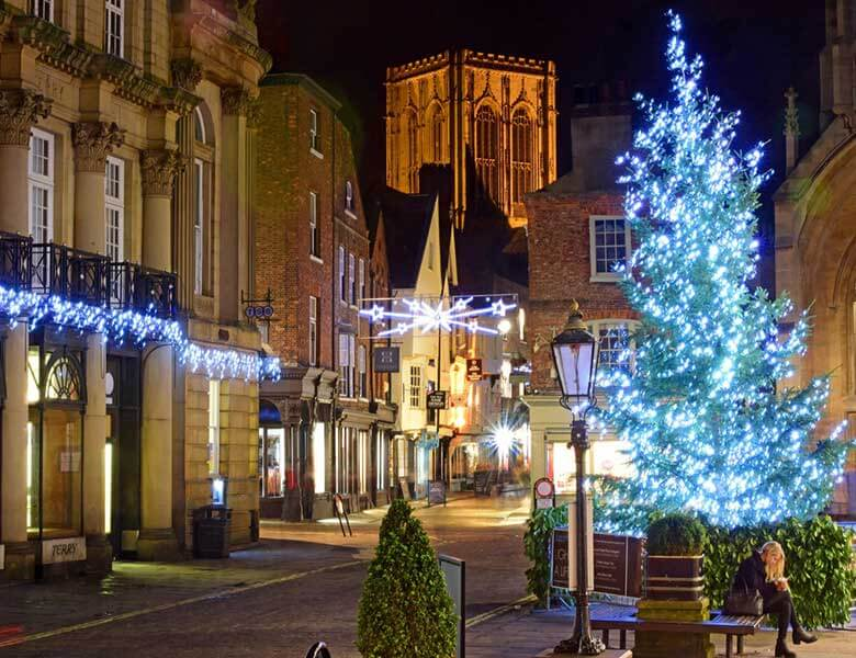 York at Christmas from Teesside